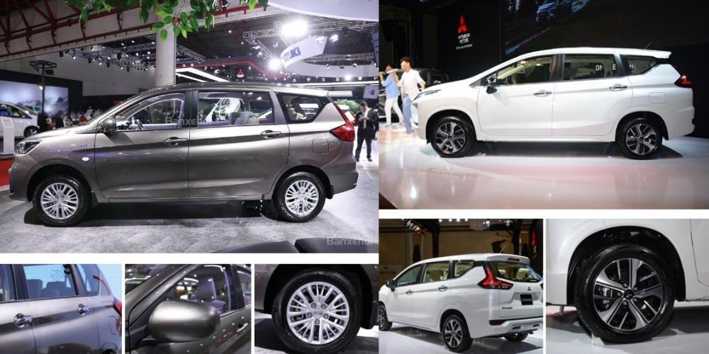 Xe gia đình nhập khẩu tầm 600 triệu, chọn tân binh Mitsubishi Xpander hay Suzuki Ertiga thế hệ mới? 5.
