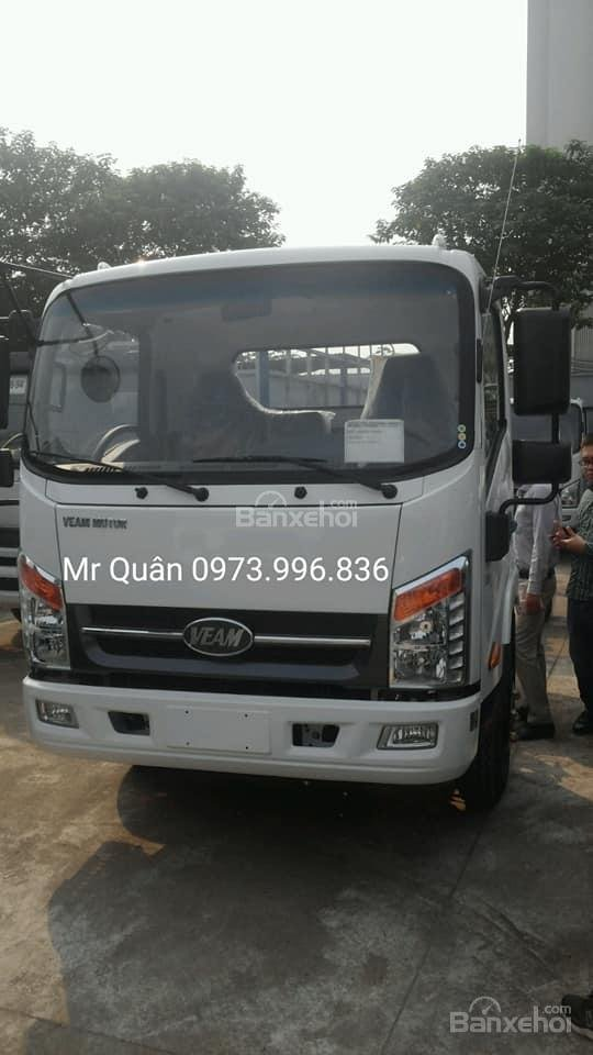 Bán xe Veam VT260-1 tải trọng 1,9 tấn thùng dài 6m- Bán xe trả góp 80%, giao ngay (1)