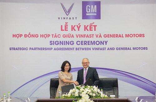 hoạt động kinh doanh của GM Việt Nam do VinFast quản lý từ quý IV năm 2018