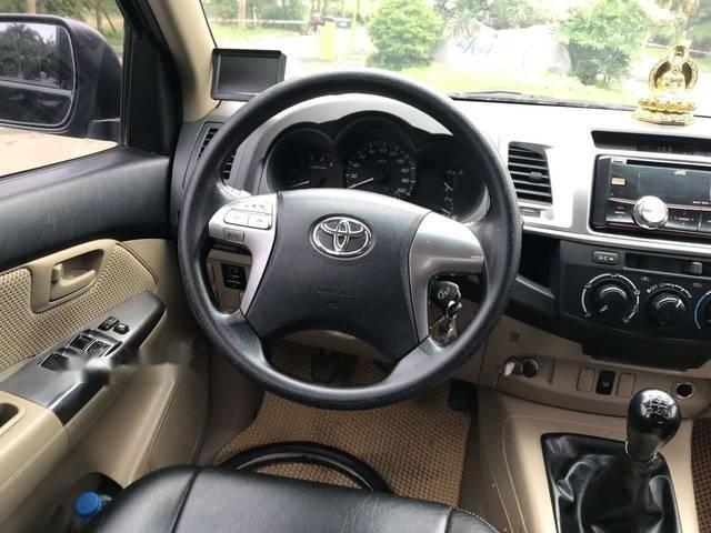 Bán ô tô Toyota Hilux 2.5E năm sản xuất 2014, màu đen, xe nhập Thái Lan-4