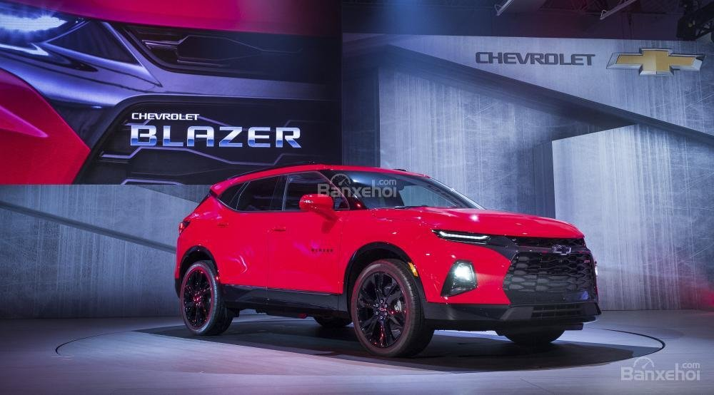 Đánh giá xe Chevrolet Blazer 2019
