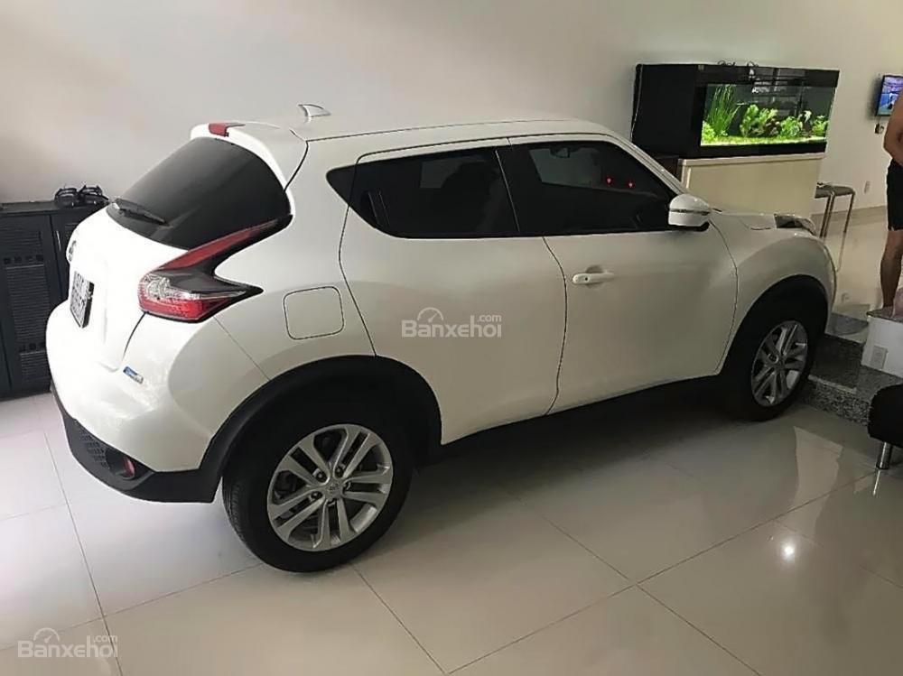 Bán Nissan Juke 1.6 AT sản xuất 2015, màu trắng, nhập khẩu còn mới (1)