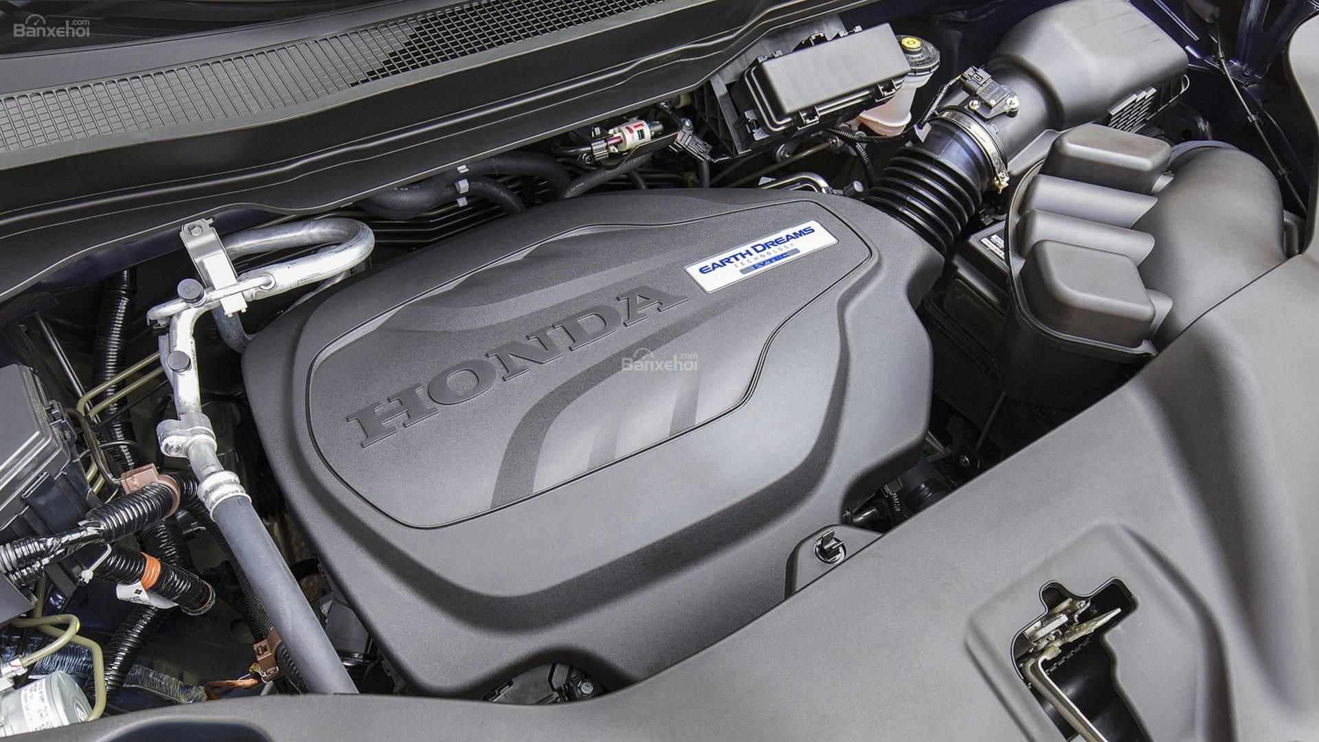 Đánh giá xe Honda Pilot 2019 về động cơ.
