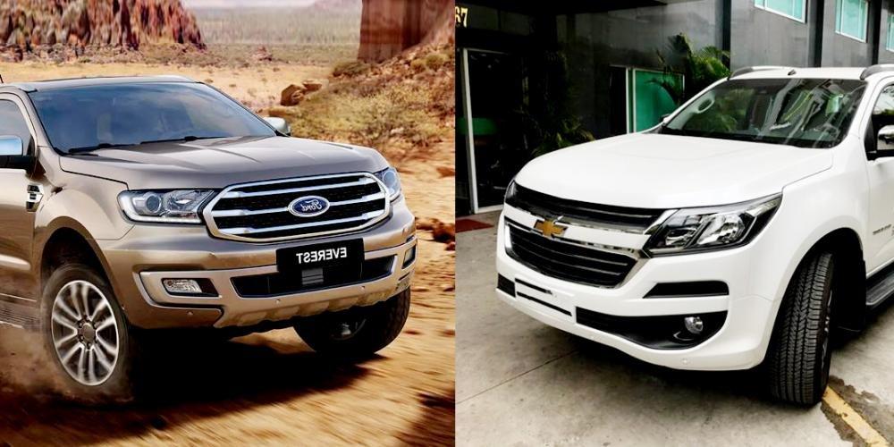 Đắt hơn 300 triệu, Ford Everest 2019 có thực sự đáng mua hơn Chevrolet Trailblazer?.