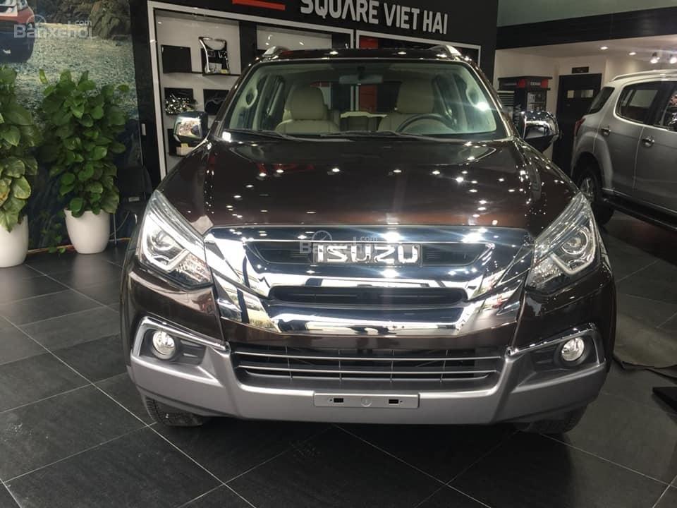 Bán xe Isuzu Mu-X đời 2018, màu nâu cafe, nhập khẩu, mua xe nhận ngay quà tặng trị giá 20 triệu đồng-0