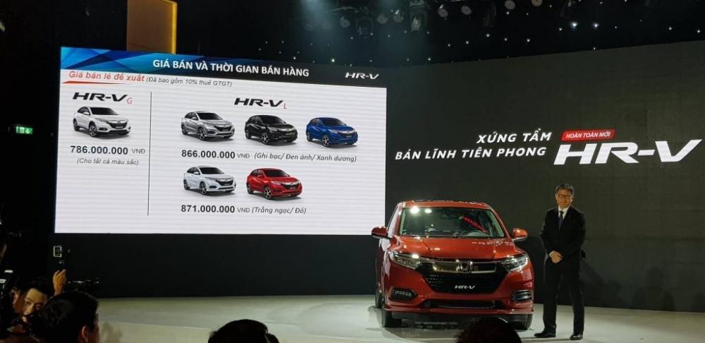 Giá xe Honda HR-V tại Việt Nam cao nhất khu vực Đông Nam Á..