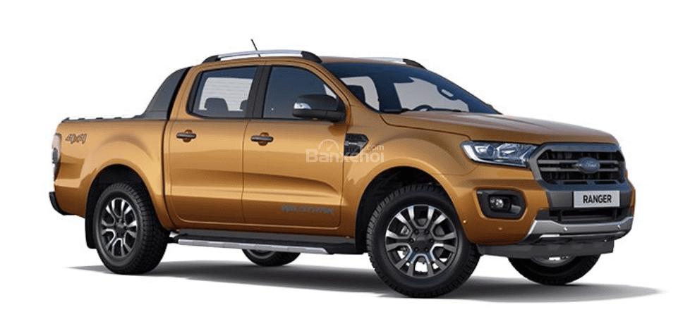 Tùy chọn màu sắc ngoại thất của Ford Ranger 2019.