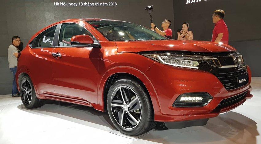 Chi tiết thông số kỹ thuật Honda HR-V 2019 mới ra mắt Việt Nam - Ảnh 2.