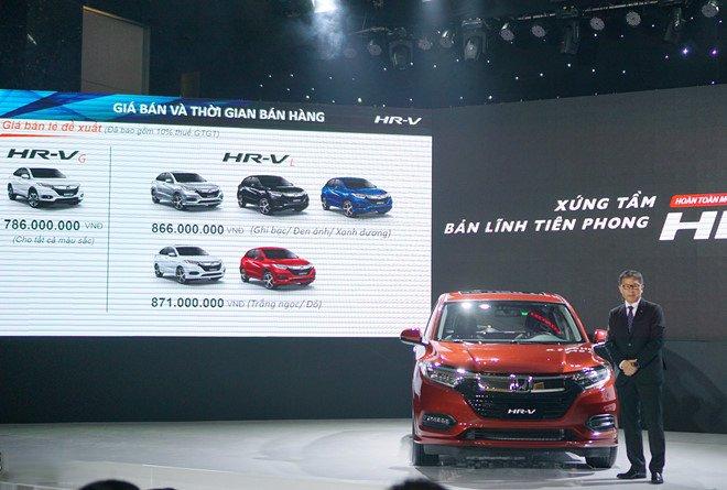 Đánh giá xe Honda HR-V 2019 phiên bản L 1.8 CVT  vừa ra mắt Việt Nam a1