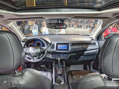 Chi tiết thông số kỹ thuật Honda HR-V 2019