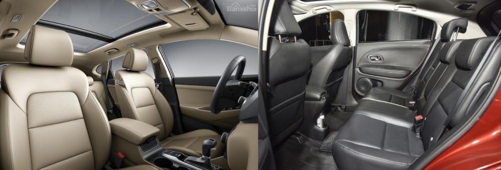 Tầm giá 900 triệu đồng, chọn mua Honda HR-V 2019 hay Hyundai Tucson 2018? 8.