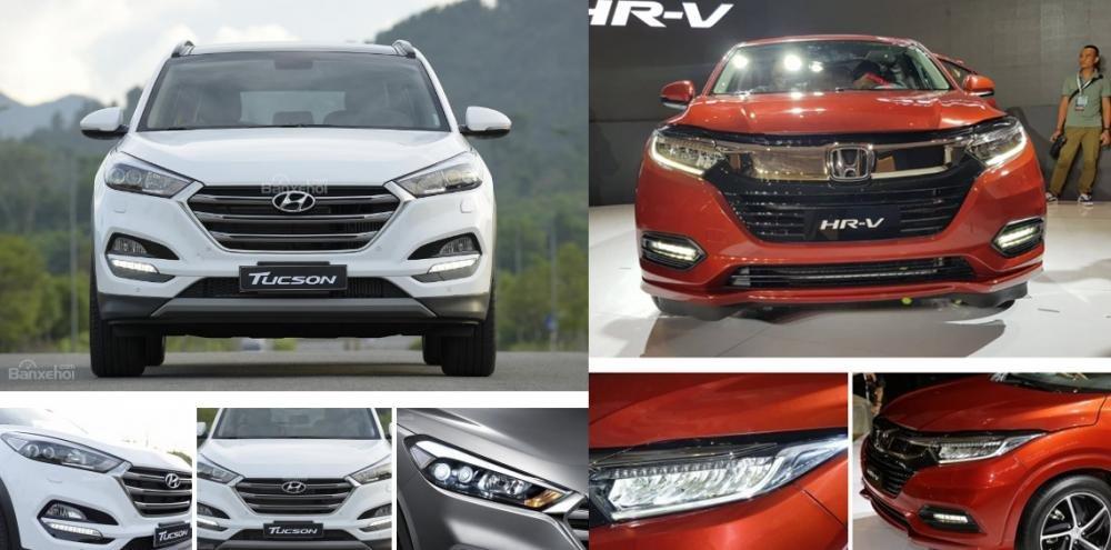 Tầm giá 900 triệu đồng, chọn mua Honda HR-V 2019 hay Hyundai Tucson 2018? 3.