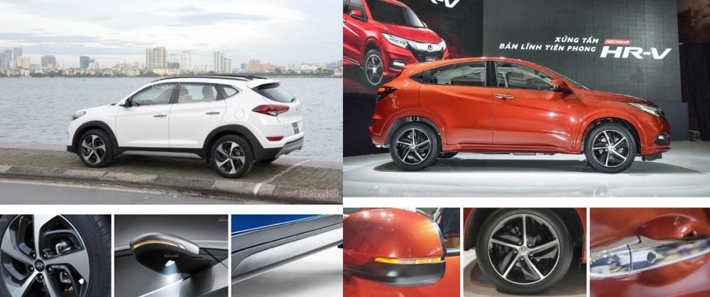 Tầm giá 900 triệu đồng, chọn mua Honda HR-V 2019 hay Hyundai Tucson 2018? 4.