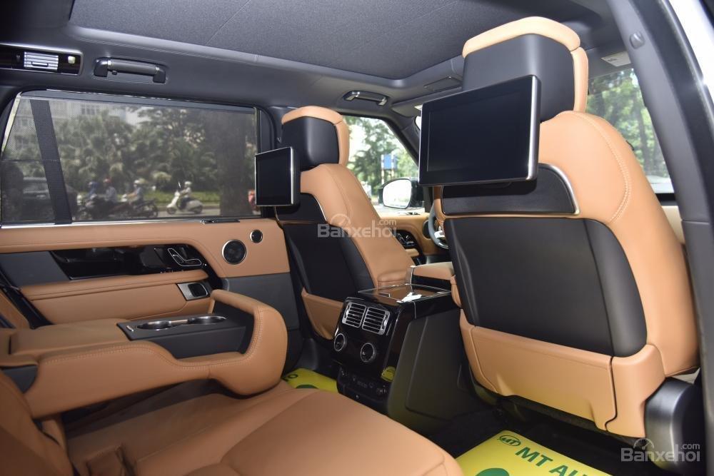 Bán LandRover Range Rover Autobio LWB đời 2018, màu trắng, nhập khẩu nguyên chiếc Mỹ giá tốt-16