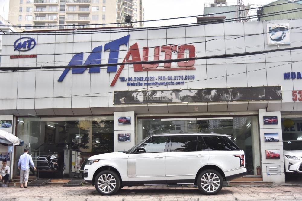 Bán LandRover Range Rover Autobio LWB đời 2018, màu trắng, nhập khẩu nguyên chiếc Mỹ giá tốt-10