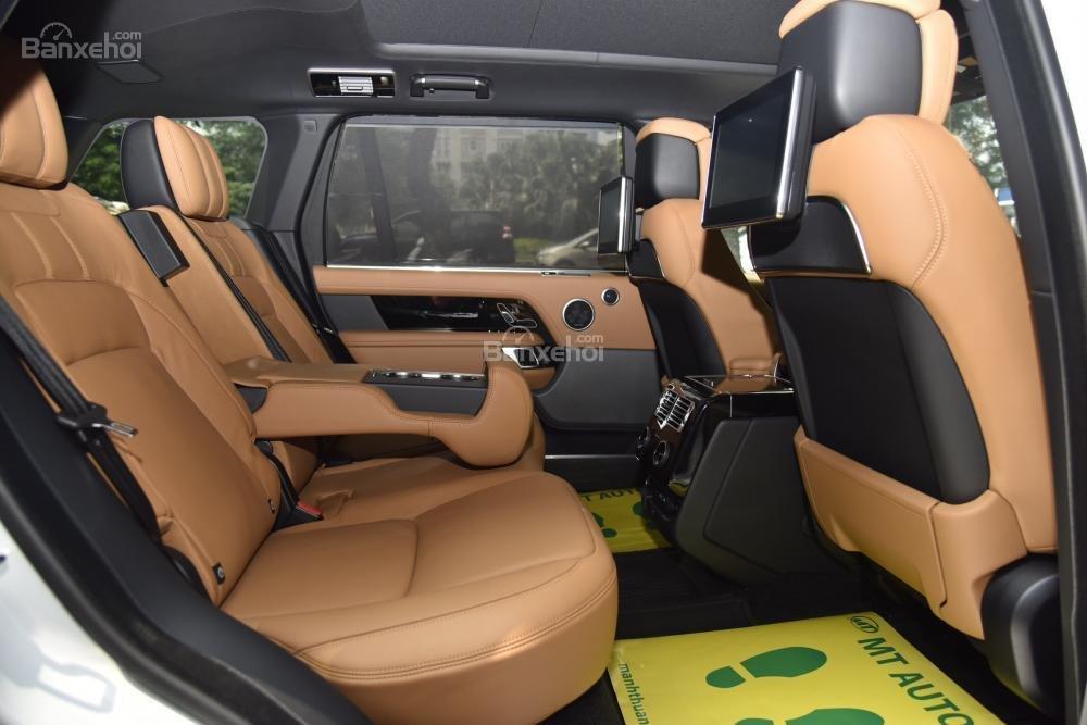 Bán LandRover Range Rover Autobio LWB đời 2018, màu trắng, nhập khẩu nguyên chiếc Mỹ giá tốt-20