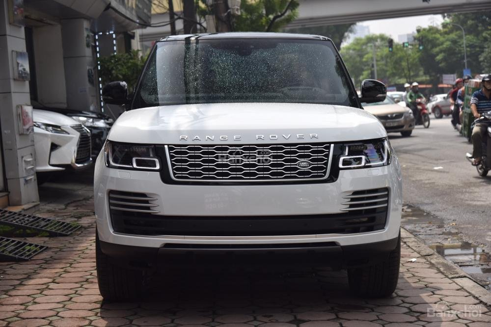 Bán LandRover Range Rover Autobio LWB đời 2018, màu trắng, nhập khẩu nguyên chiếc Mỹ giá tốt-0