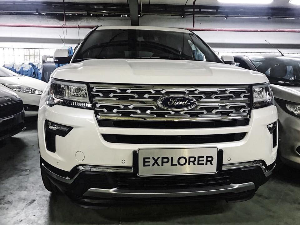Đánh giá xe Ford Explorer 2019: Đầu xe.