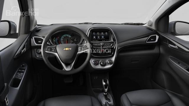 Đánh giá xe Chevrolet Spark 2019 cập nhật mới - táp-lô-1