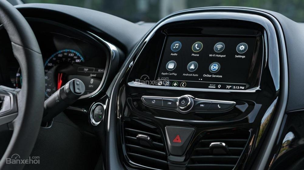 Đánh giá xe Chevrolet Spark 2019 cập nhật mới - màn hình - 1