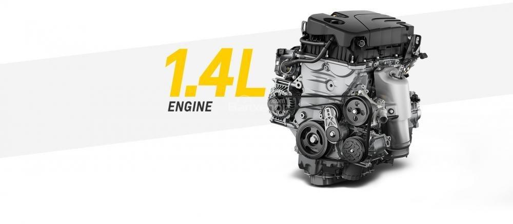Đánh giá xe Chevrolet Spark 2019 cập nhật mới - động cơ - 1