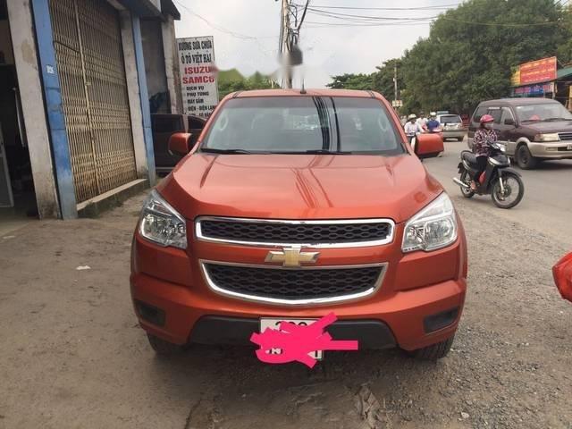 Cần bán Chevrolet Colorado MT 2016, màu đỏ, giá chỉ 520 triệu (1)