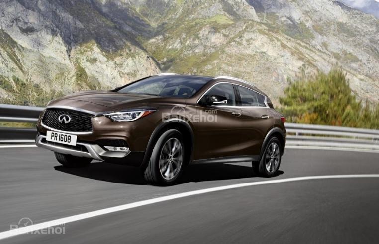 Đánh giá xe Infiniti QX30 2018 về mức tiêu hao nhiên liệu.