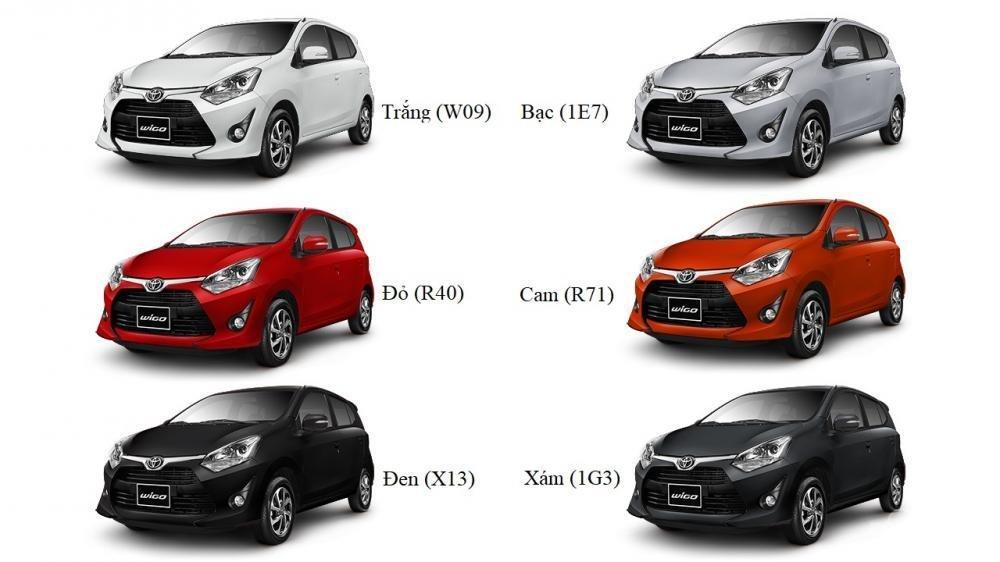 Đánh giá Toyota Wigo 2018 mới về Việt Nam về màu sắc...