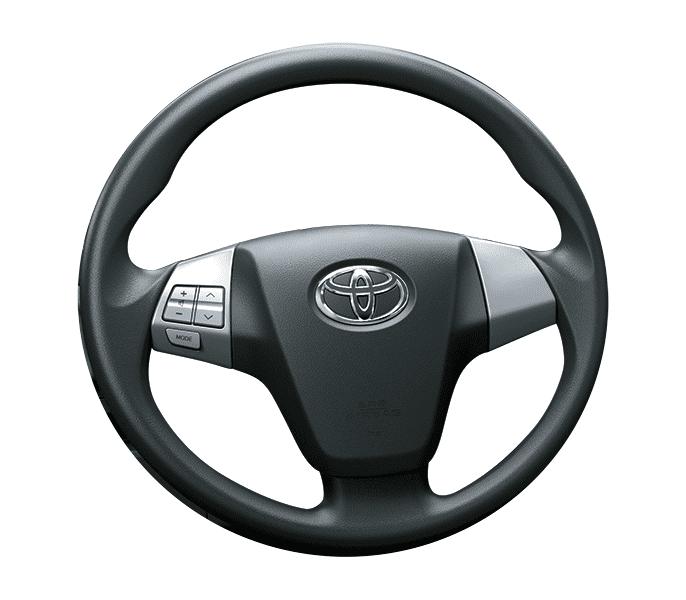 So sánh xe Toyota Rush và Toyota Avanza về táp-lô và vô-lăng 5