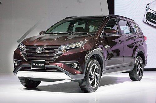 Toyota Avanza và Toyota Rush - Xe gia đình và xe đi phố.