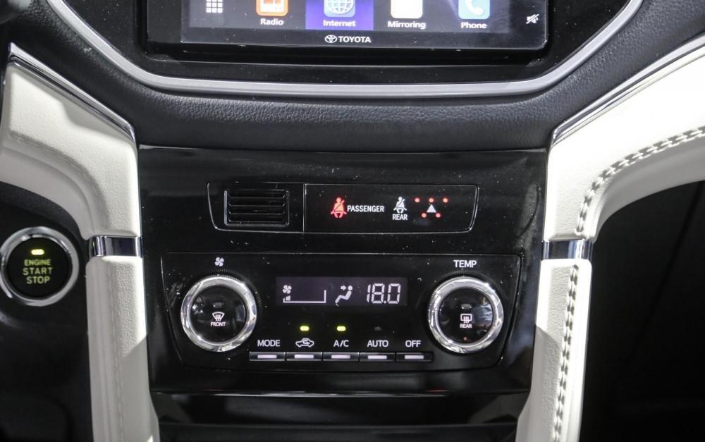 So sánh Toyota Rush và Toyota Avanza về tính năng giải trí.