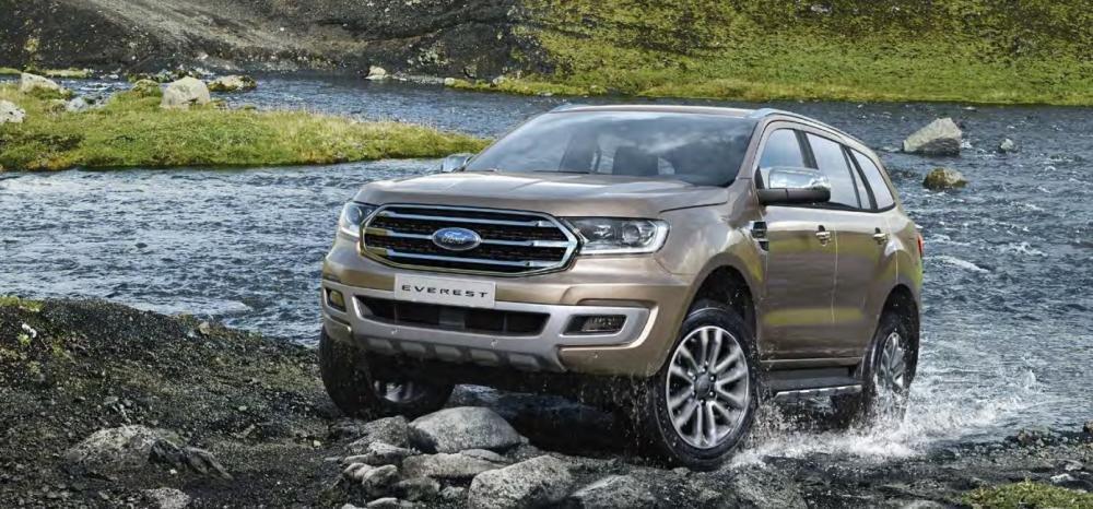 Giá xe Ford Everest mới nhất.