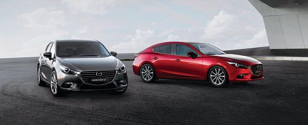 Thiết kế xe Mazda 3 2018 tại Việt Nam..