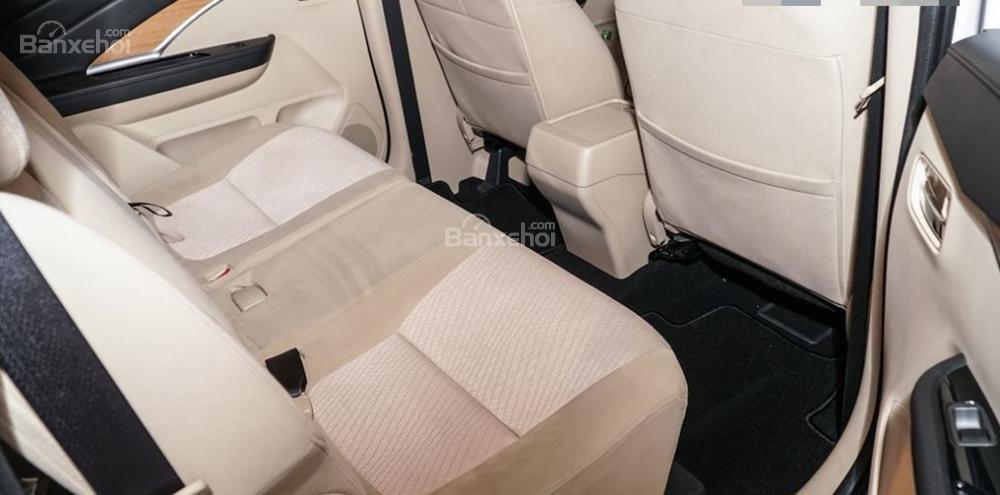 Thiết kế hàng ghế sau Mitsubishi Xpander 2018