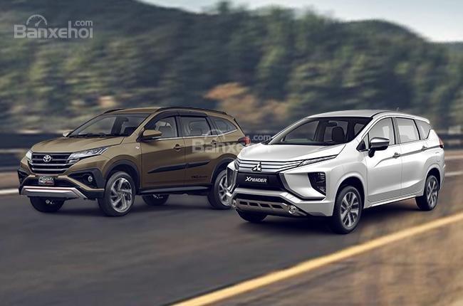 Toyota Rush 2018 và Mitsubishi Xpander 2018