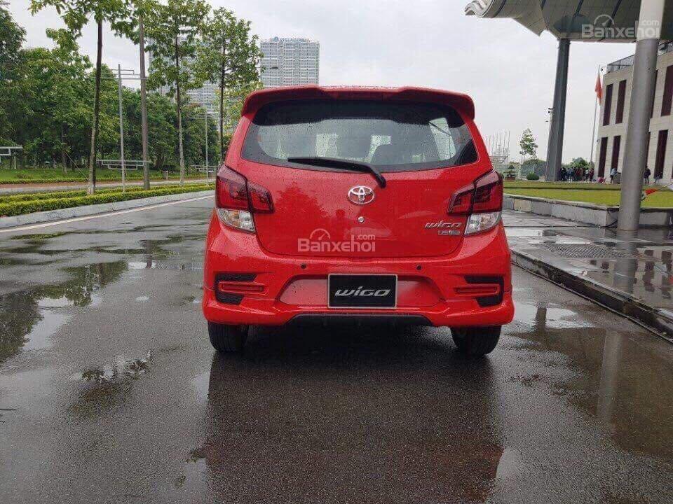 **HOT** Toyota Wigo hỗ trợ 15 triệu tiền phí trước bạ, trả trước 80 triệu nhận xe, LH 0933331816 để có giá tốt nhất (5)