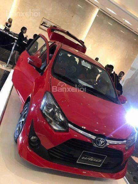 **HOT** Toyota Wigo hỗ trợ 15 triệu tiền phí trước bạ, trả trước 80 triệu nhận xe, LH 0933331816 để có giá tốt nhất (7)