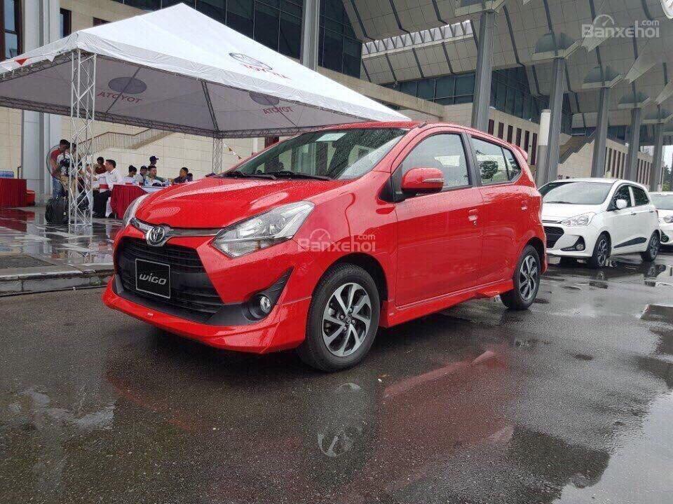 **HOT** Toyota Wigo hỗ trợ 15 triệu tiền phí trước bạ, trả trước 80 triệu nhận xe, LH 0933331816 để có giá tốt nhất (6)