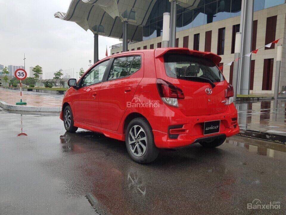 **HOT** Toyota Wigo hỗ trợ 15 triệu tiền phí trước bạ, trả trước 80 triệu nhận xe, LH 0933331816 để có giá tốt nhất (2)