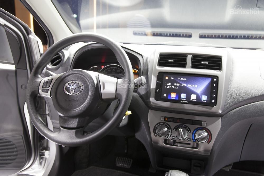 Vô lăng của Toyota Wigo
