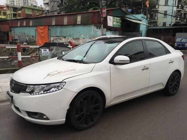 Cần bán gấp Kia Forte S đời 2013, màu trắng (1)