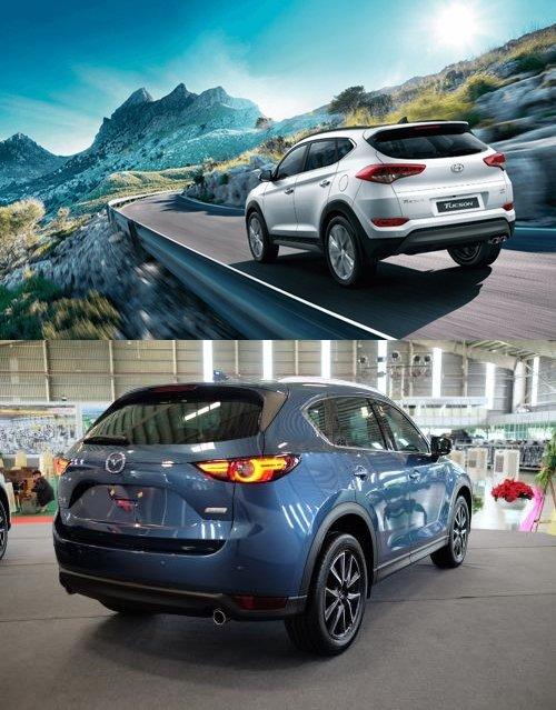 Mua xe 5 chỗ, chọn Mazda CX-5 2018 hay Hyundai Tucson 2018? 5.