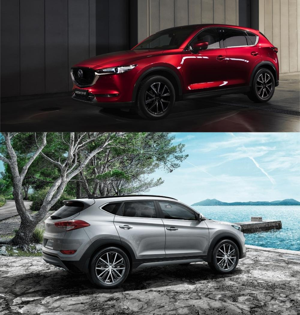 Mua xe 5 chỗ, chọn Mazda CX-5 2018 hay Hyundai Tucson 2018? 4.