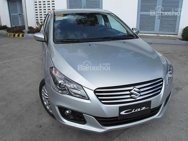 Cần bán xe Suzuki Ciaz 2019, màu bạc, đưa trước 150 triệu lấy xe-1