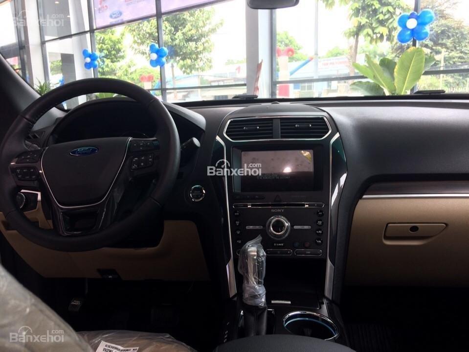 Bán Ford Explorer 2.3 Ecoboost 2018, nhập khẩu nguyên chiếc giao xe ngay đủ màu giá tốt . Hỗ trợ trả góp, LH 0974286009-5