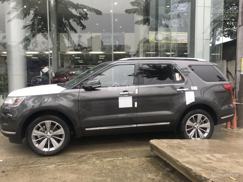 Bán Ford Explorer 2.3 Ecoboost năm 2018, nhập khẩu nguyên chiếc. Giao xe toàn quốc, LH 0974286009-5