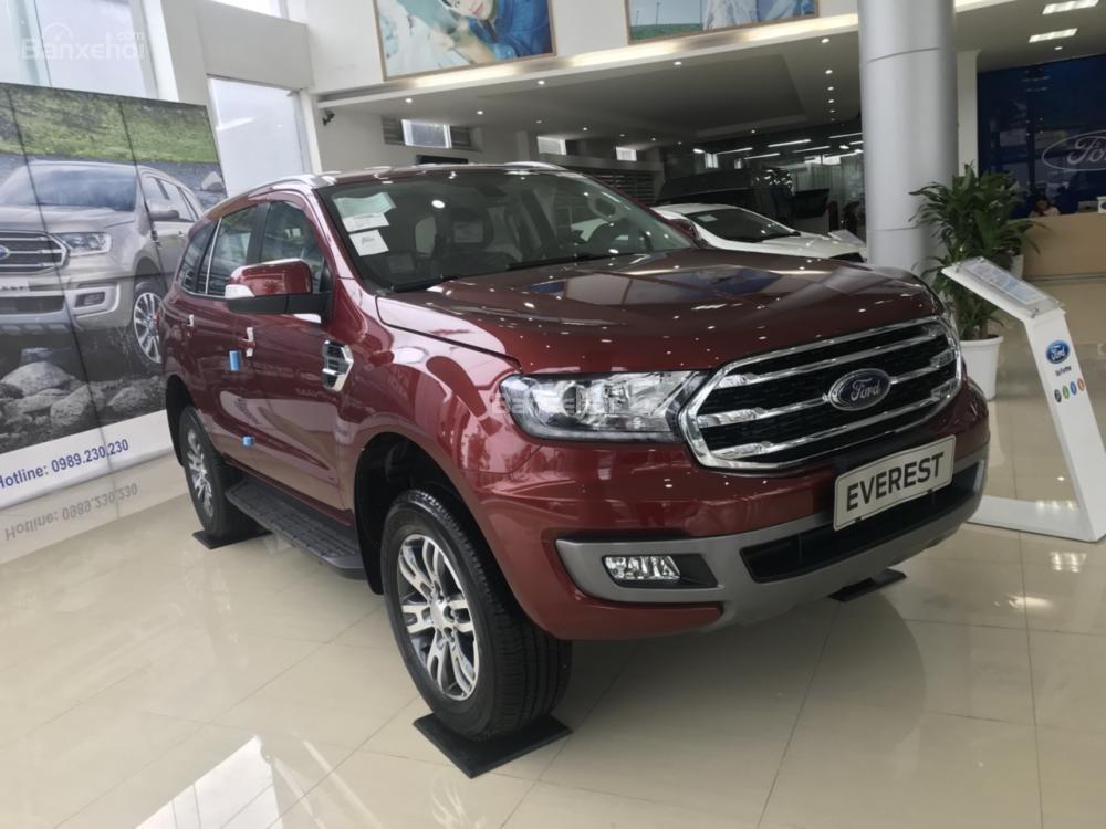 Cần bán Ford Everest Trend 2.0 AT sản xuất năm 2019, màu đỏ, nhập khẩu nguyên chiếc (1)