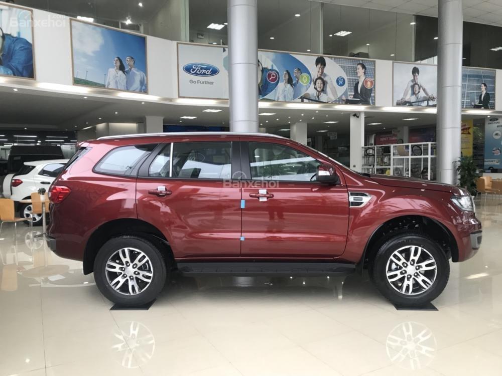 Cần bán Ford Everest Trend 2.0 AT sản xuất năm 2019, màu đỏ, nhập khẩu nguyên chiếc (2)