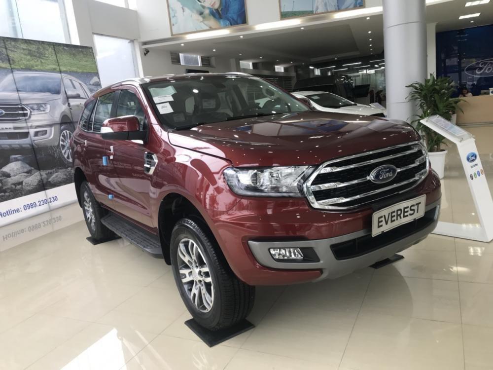 Cần bán Ford Everest Trend 2.0 AT sản xuất năm 2019, màu đỏ, nhập khẩu nguyên chiếc (5)