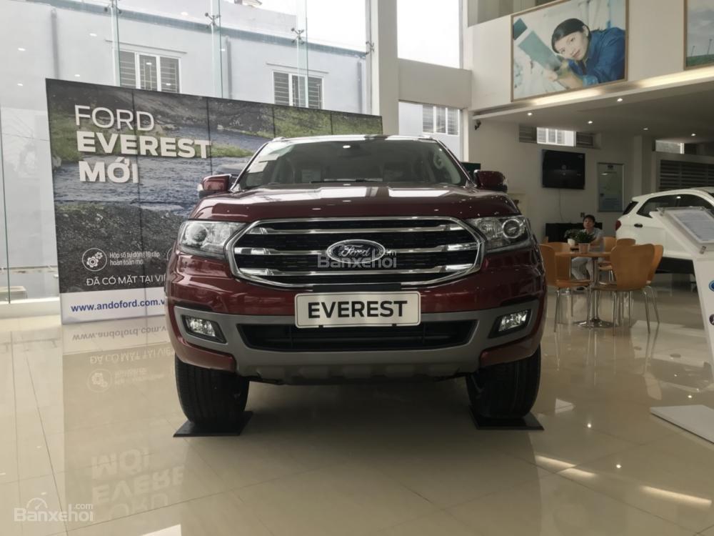 Cần bán Ford Everest Trend 2.0 AT sản xuất năm 2019, màu đỏ, nhập khẩu nguyên chiếc (6)